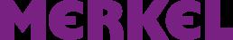 Merkel Logo lila